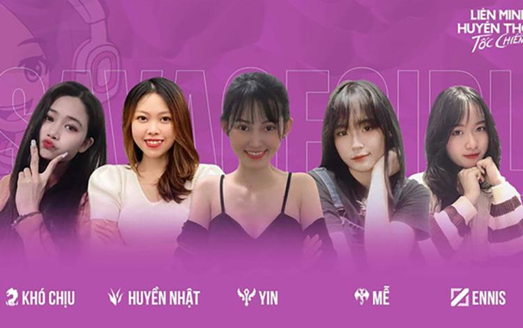 Xuất hiện team nữ cực xinh đẹp tại Icon Series SEA Mùa Hè 2021