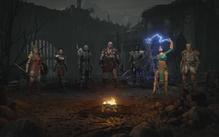 Cùng GameTV điểm mặt qua 7 class nhân vật trong Diablo 2