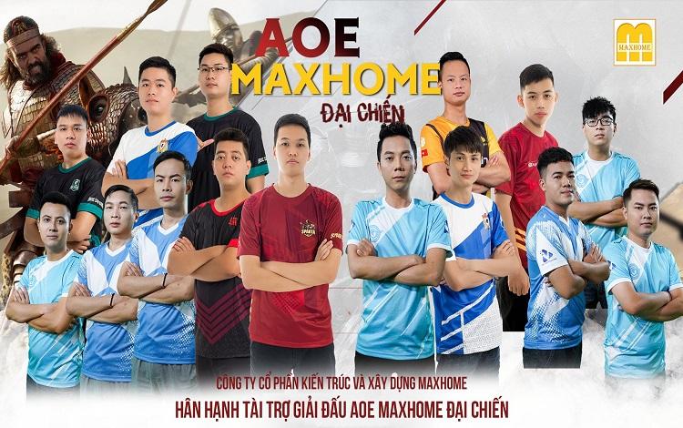 Chính thức công bố danh sách các game thủ tham gia giải đấu AoE Max Home