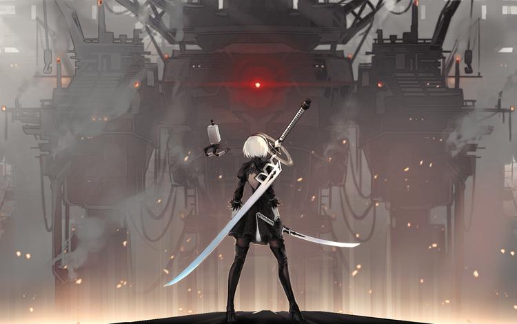 """Sau """"bão review"""" trên Steam, Nier: Automata cuối cùng cũng tung ra bản vá để chiều lòng game thủ"""