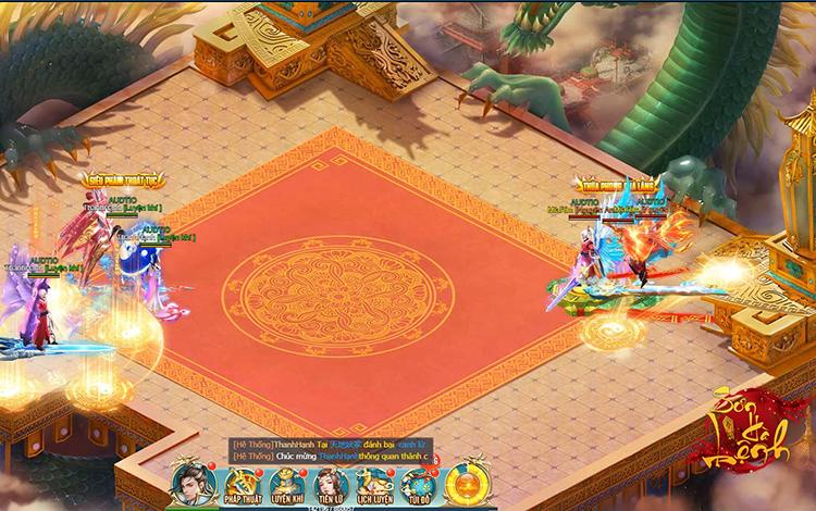 Siêu phẩm game kiếm hiệp Sơn Hà Lệnh chuẩn bị ra mắt