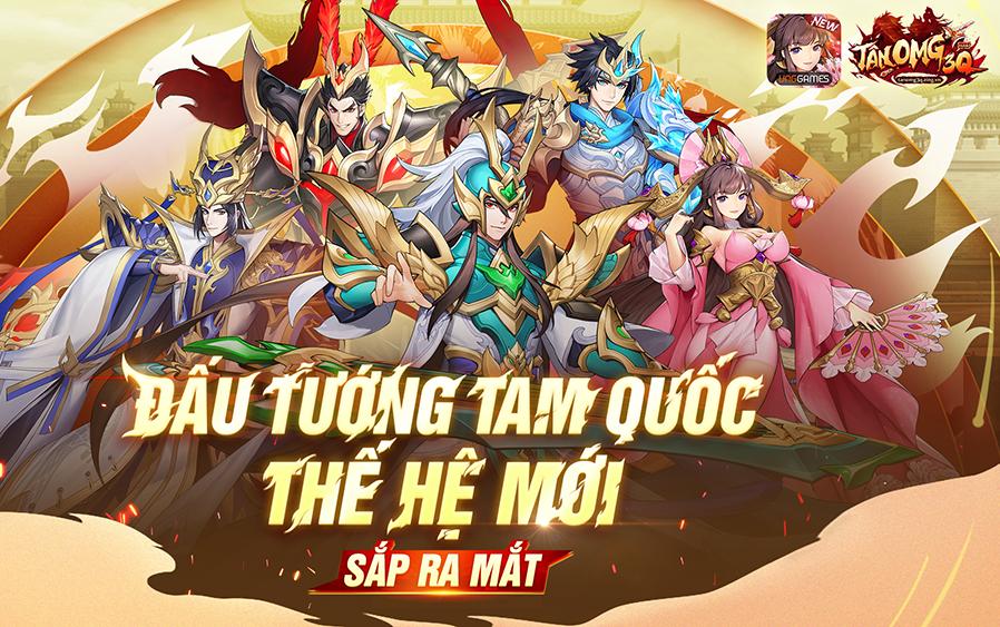 Tân OMG3Q VNG – Tựa game đấu tướng thế hệ mới sắp ra mắt có gì đặc biệt?