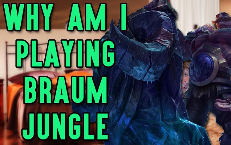 """Braum có thể sẽ xuất hiện ở vị trí...đi rừng vì chỉnh sửa """"điên rồ"""" mà Riot Games tạo ra trong LMHT"""