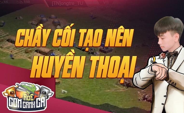"""Vũ """"Gió"""" - người hạ gục Đinh Xuân Canh tại giải đấu AoE Cơm Canh Cà là ai?"""