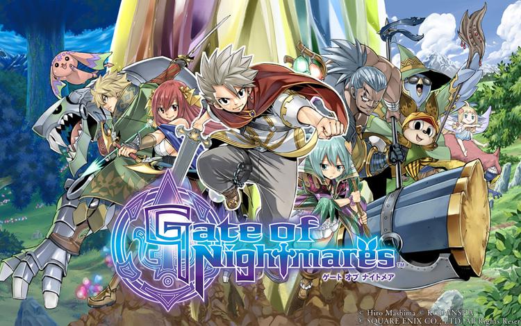 Tác giả Fairy Tail và nhà soạn nhạc của Thủy Thủ Mặt Trăng hợp tác với Square Enix để ra mắt tựa game mobile có Gate of Nightmares
