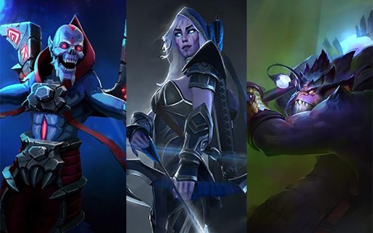 """Từ bộ kỹ năng """"phế vật"""", 3 Hero này đã đổi đời mãi mãi dưới sự nhào nặn của IceFrog"""