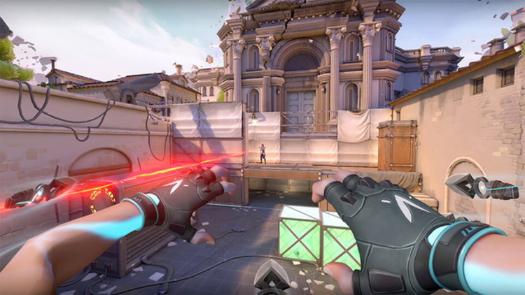 Game thủ được khuyên sơn súng như Free Fire khi gặp bug trong Valorant
