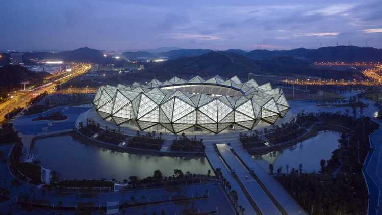 CKTG tung trailer siêu hoành tráng, trận chung kết sẽ diễn ra ở SVĐ hiện đại bậc nhất Trung Quốc