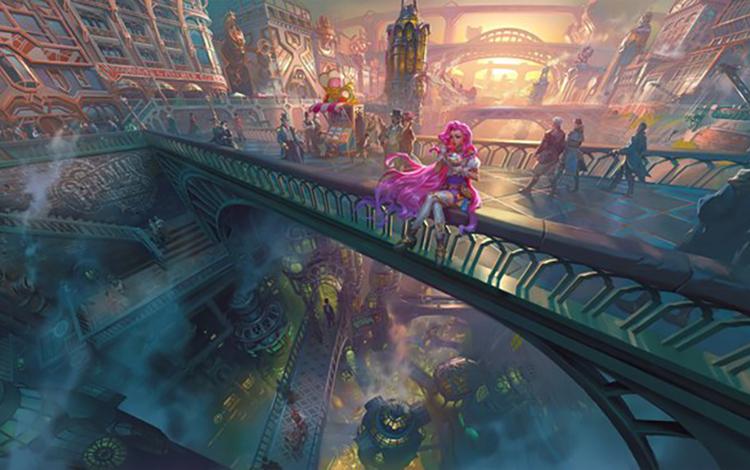 Siêu phẩm game MMORPG của Riot Games tung ra những hình ảnh đầu tiên