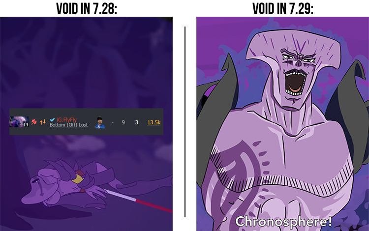 Faceless Void 7.29 - Trỗi dậy từ nỗi nhục tại chung kết Major