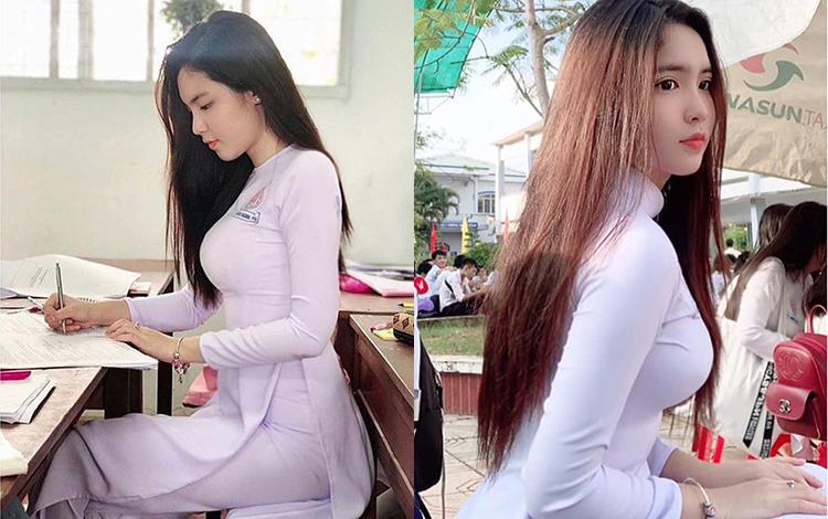 """Chiêm ngưỡng vẻ đẹp của nữ sinh Việt 10x được báo Trung mệnh danh """"mỹ nhân"""""""