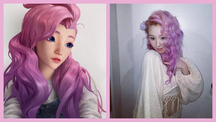 Nữ Idol nổi tiếng KPOP hóa thân trông chẳng khác nào Seraphine giữa đời thực