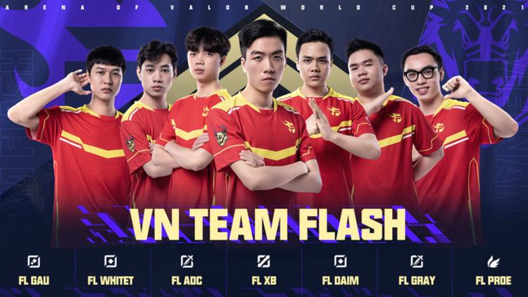 Bom tấn trước AWC 2021 của Team Flash là ai?