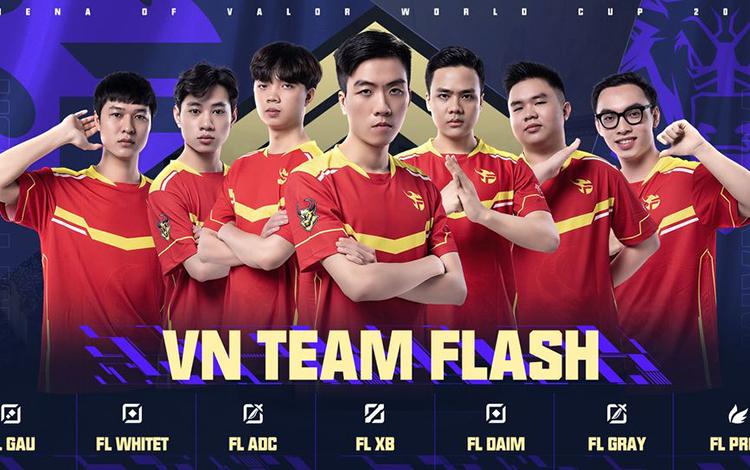 Giới thiệu các đội tuyển Việt Nam tham dự AWC 2021 - Đương kim vô địch Team Flash