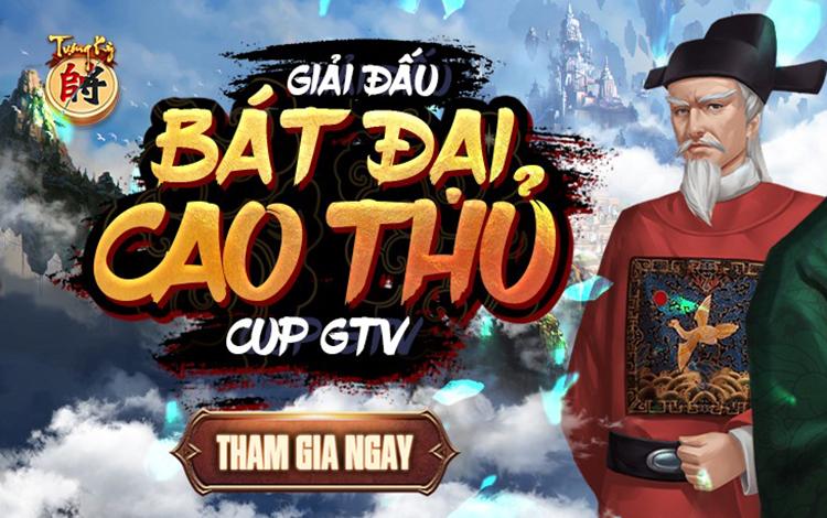 Thông cáo báo chí giải vô địch cờ úp Bát Đại Cao Thủ cúp Tượng Kỳ - GTV