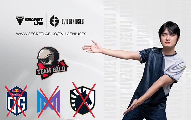 Iceiceice lựa chọn Team Bald Reborn vượt qua vòng loại TI10 khu vực EU???