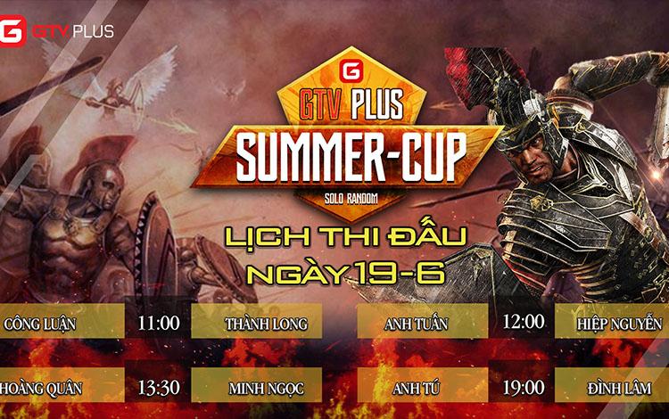 Lịch thi đấu ngày thi đấu ngày 18 tháng 6 Giải đấu AOE SUMMER CUP 2021