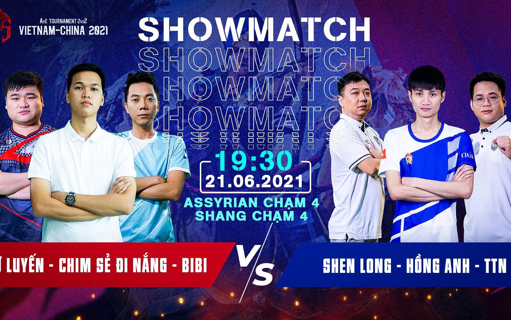 AOE Tournament 2vs2 Vietnam - China 2021: Bảng A vạn sự khởi đầu nan