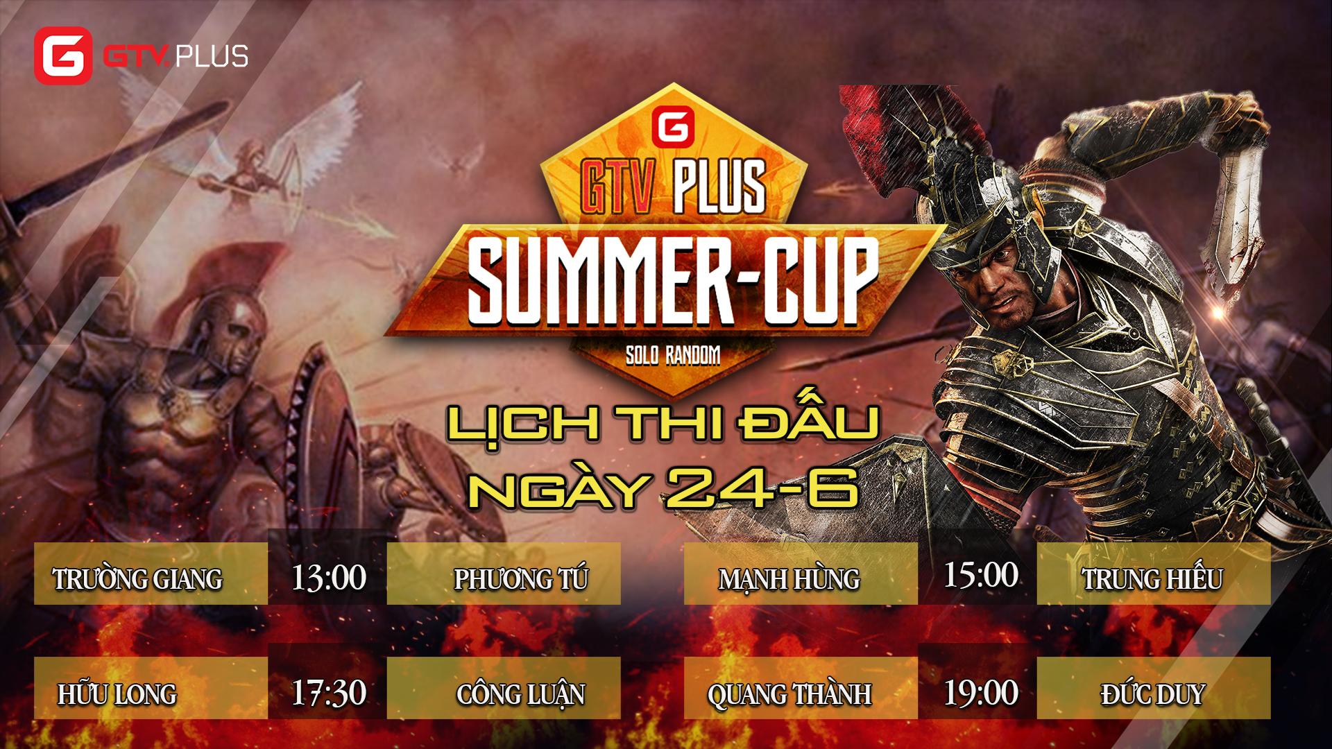Lịch thi đấu ngày thi đấu ngày 24 tháng 6 Giải đấu AOE SUMMER CUP 2021