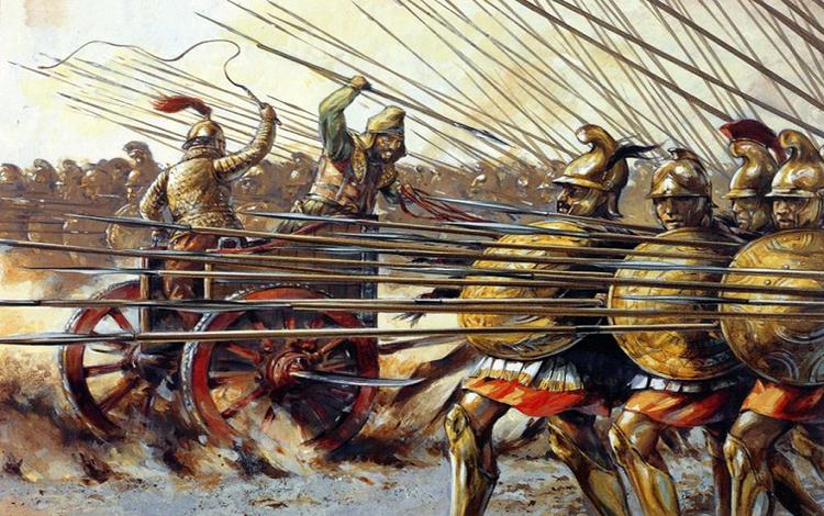 Alexander Đại đế và quân đoàn Y Macedonia bất tử