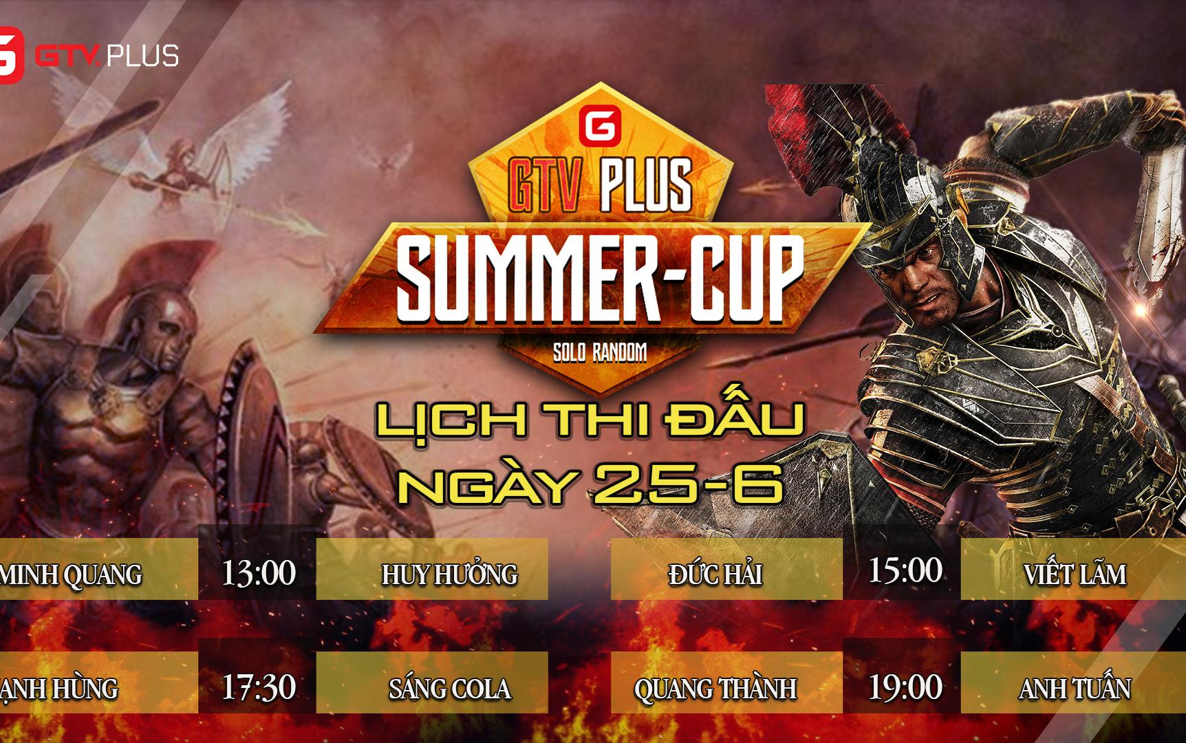 Lịch thi đấu ngày thi đấu ngày 25 tháng 6 Giải đấu AOE SUMMER CUP 2021