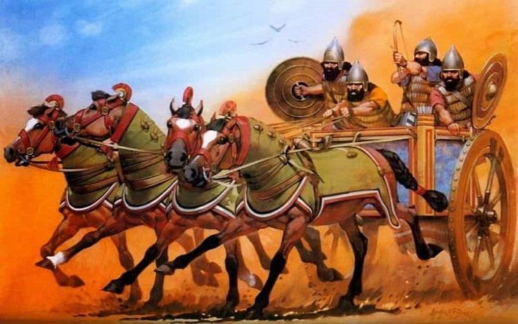 Đế chế  Assyria và những cuộc tắm máu bằng cung tên