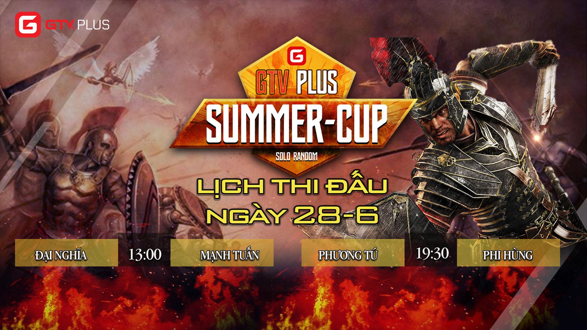 Lịch thi đấu ngày thi đấu ngày 28 tháng 6 Giải đấu AOE SUMMER CUP 2021