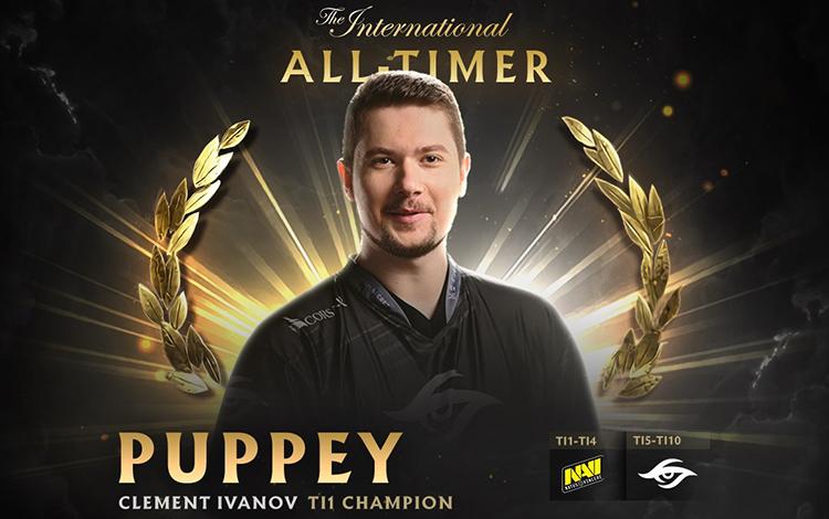 Vắng Ky hói, Puppey trở thành player vĩ đại nhất trong lịch The International