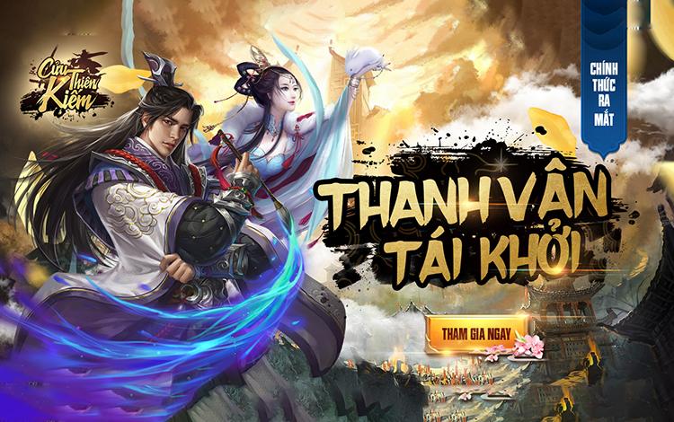 Cửu Thiên Kiếm - Tựa game chuẩn cốt chuyện Tru Tiên chính thức ra mắt