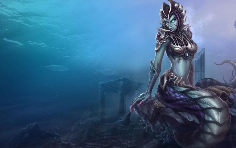 Cốt truyện Liên Minh Huyền Thoại #19 - Cassiopeia - Xà Nữ