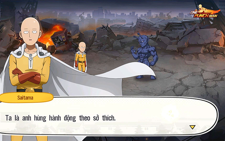 Game thủ Việt mong One Punch Man: The Strongest sớm ra mắt