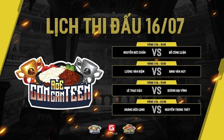 AoE Cơm CanTeen Lần 1: Lịch thi đấu vòng play off ngày 2
