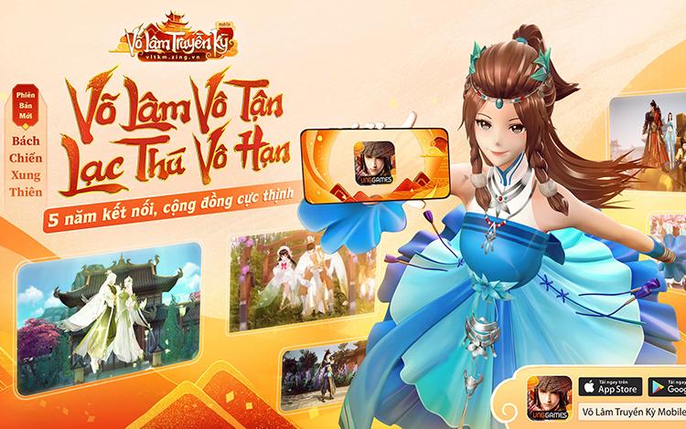 VLTK Mobile: Bách Chiến Xung Thiên - Khai mở cánh cửa bước vào thế giới Võ Lâm mới 2021