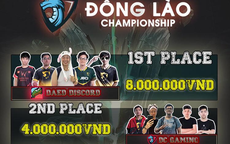 Daed Discord lên ngôi tại Đông Lào Championship Season 1