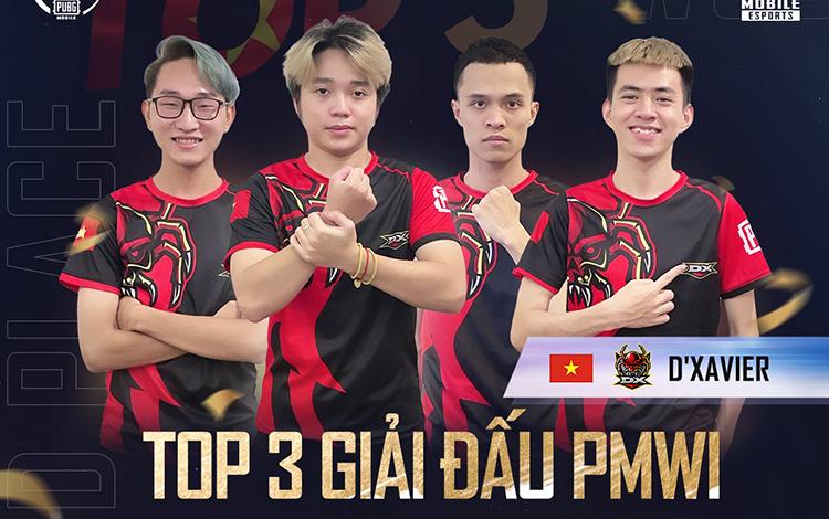 PUBG Mobile Việt Nam lọt vào top 3 tại giải đấu quốc tế PMWI 2021