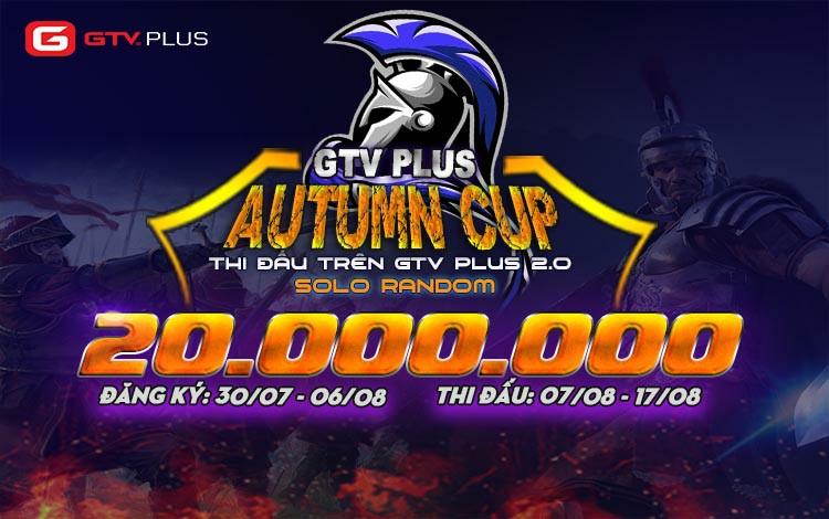 Giải đâu AoE GTV Plus Autumn Cup chính thức mở đăng ký tham gia.