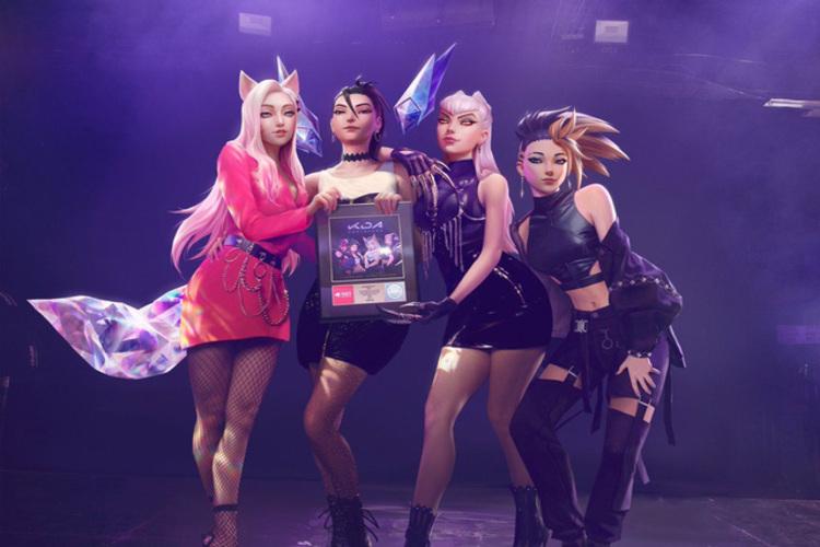 """Nhóm K/DA của ông bầu """"Riot Entertainment"""" nhận giải thưởng danh giá cho siêu phẩm âm nhạc POP/STAR, làm nhạc giỏi hơn làm game là có thật?"""