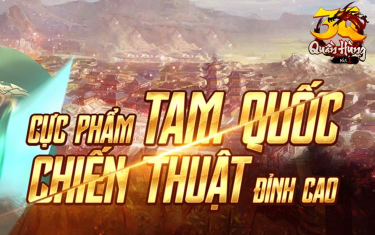 Cộng đồng game thủ xôn xao về tựa game bom tấn Tam Quốc sắp được ra mắt trên thị trường Việt Nam