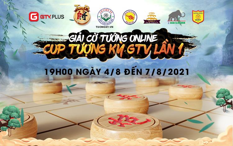 Thông cáo báo chí giải đấu cờ tướng online cup Tượng Kỳ GTV lần 1