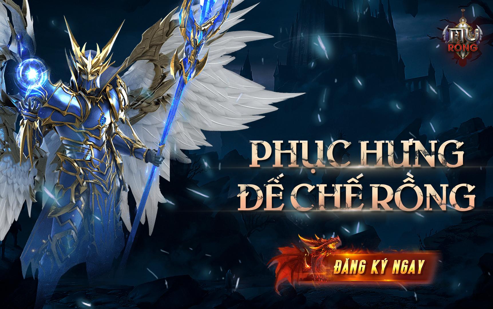 Siêu phầm game MU Rồng chính thức ra mắt game thủ