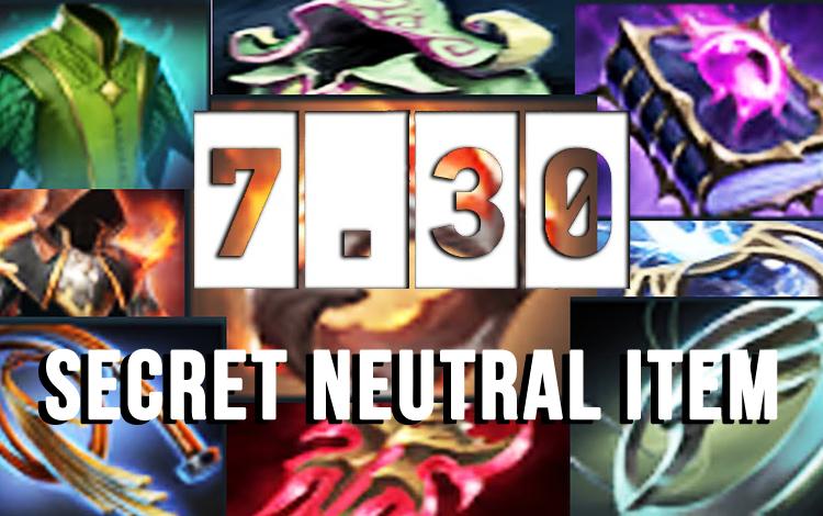 7 Neutral Item bí ẩn được cập nhật trong bản Update 7.30