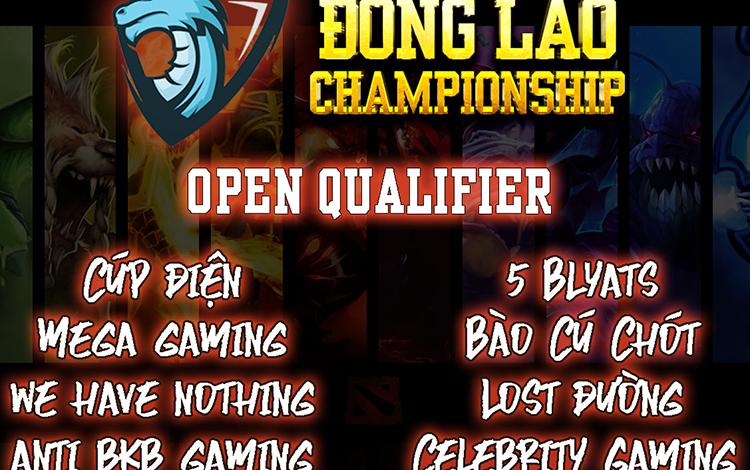 Danh sách 16 team tham dự vòng loại thứ nhất Đông Lào Championship Season 2