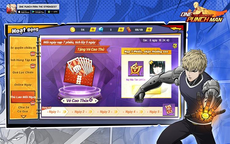 Cẩm nang 7 ngày từ tân thủ thành cao thủ One Punch Man: The Strongest