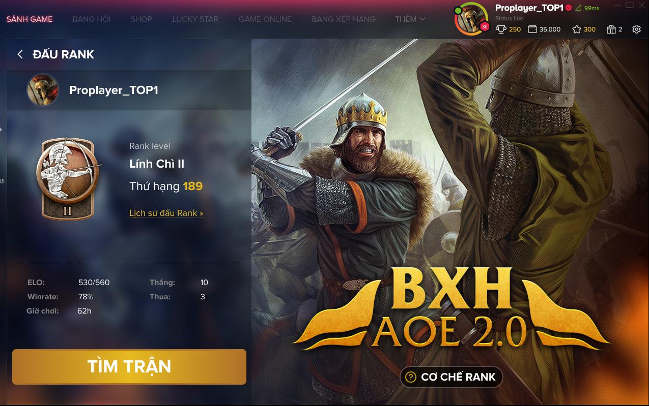 AoE Ranking bước đột phá mới giúp AoE hướng đến đấu trường thể thao điện tử chuyên nghiệp