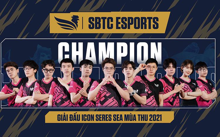 Lật kèo cảm xúc, SBTC bảo vệ thành công chức vô địch Icon Series SEA Việt Nam