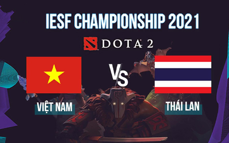 Thảm bại dưới tay người Thái, Dota 2 Việt Nam trước nguy cơ vắng mặt tại iESF WC 2021