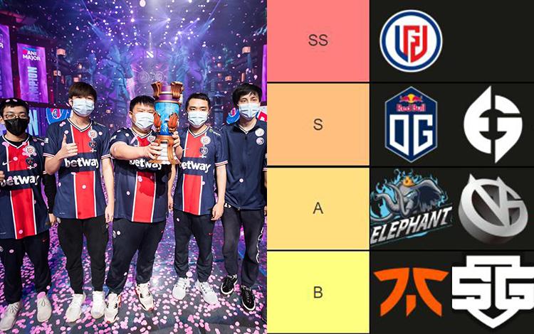 Xếp hạng sức mạnh của 18 đội tuyển tham dự TI10: LGD và phần còn lại của thế giới