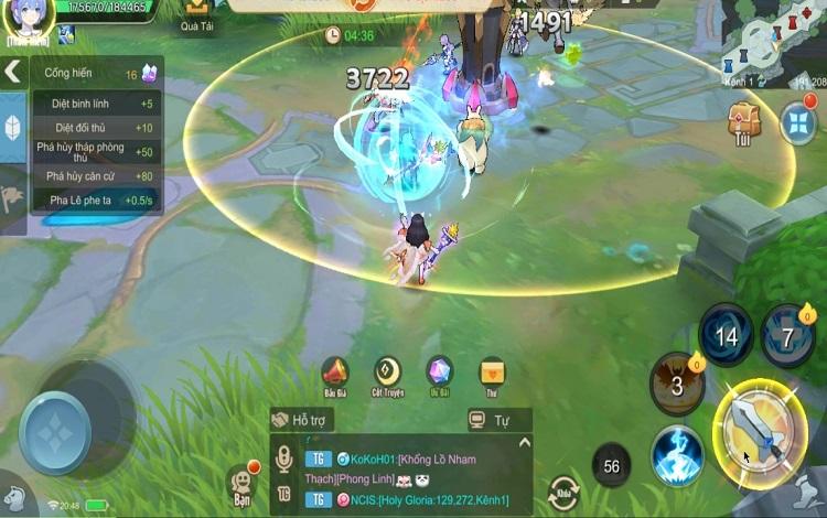Cloud Song VNG: Khám phá gameplay đa dạng, map chiến MOBA hay chạy bo Sinh Tồn đều không thiếu