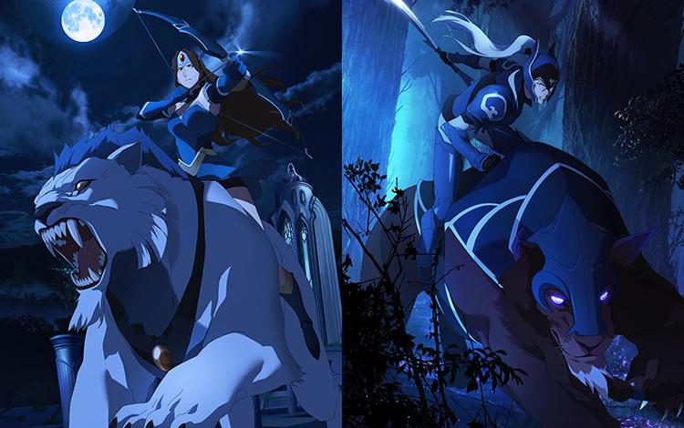 Hé lộ Arcana Luna cùng Mirana Persona trong Battle Pass Mùa Thu 2021?