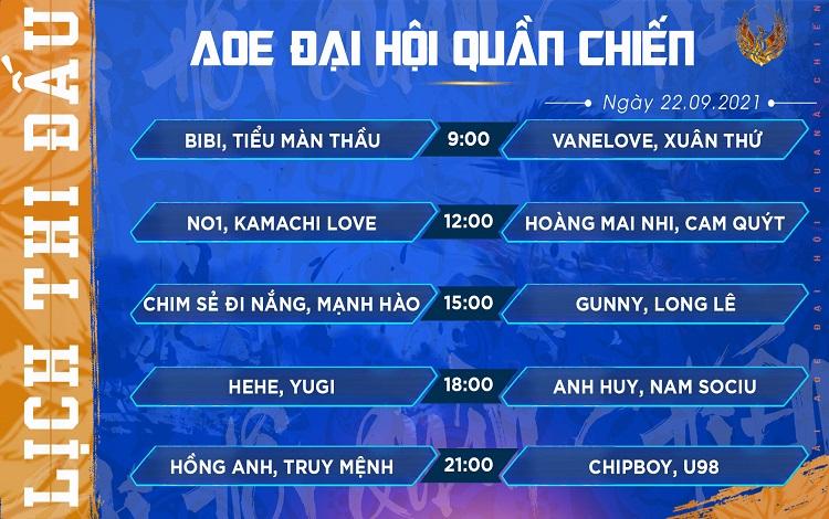 Ngày thi đấu thứ 2 giải đấu AoE Đại Hội Quần Chiến: Án phạt dành cho HeHe, Chim Sẻ Đi Nắng hủy diệt giải đấu